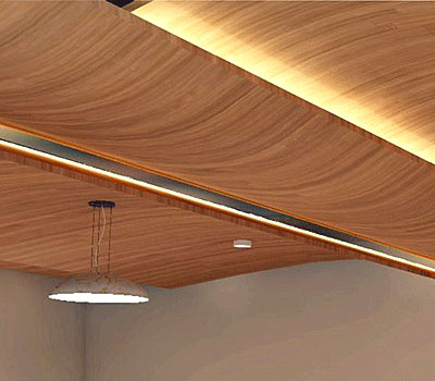 Kerfkore Curved Ceiling