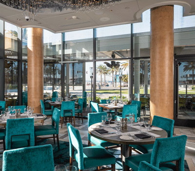 Kerfkore Leather Columns Del Frisco's