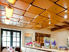 Kerfkore Woven Wooden Ceiling