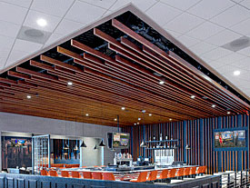 Worklite Lightweight Ceiling at Patties & Pints