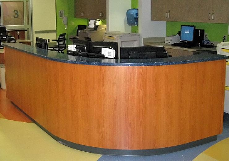 Econokore Kosair Children's Hospital Desk
