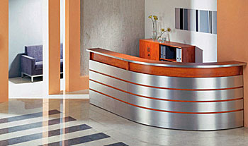 Kerfkore Chemetal Reception Desk