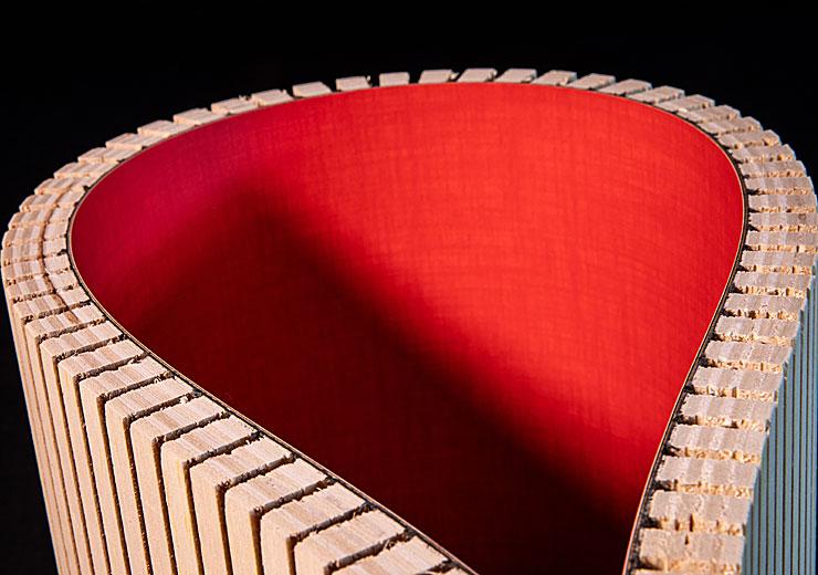 Kerfkore Flexible Panel Bright Laminate