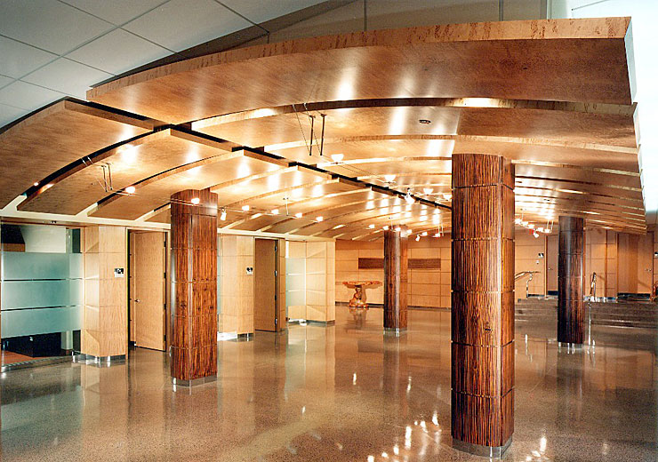 Timberflex Curved Ceiling Panels