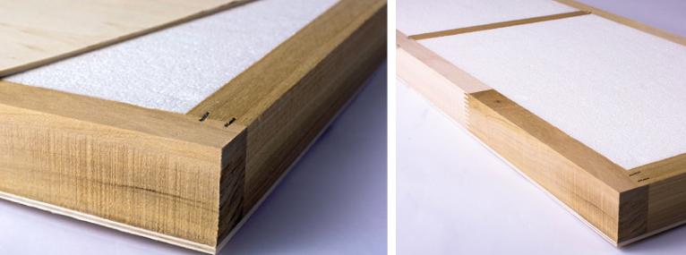 Framing and internal banding examples